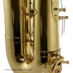 The back of this horn looks as good as new!